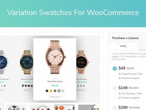 WooCommerce Variation Swatches Pro | Plugin tạo tùy biến màu sắc, kích thước sản phẩm